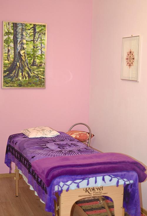 Masážní místnost v Praze